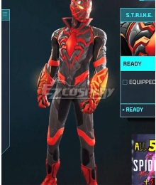PS5 Marvel 2021 Spider-Man: Miles Morales S.T.R.I.K.E Cosplay Costume