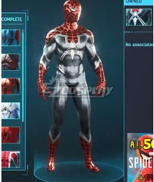 PS5 Marvel 2021 Spider-Man: Miles Morales Resillent Cosplay Costume