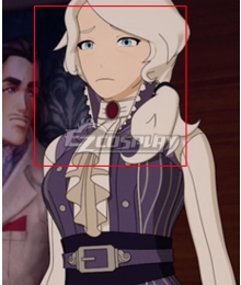 RWBY Volume 8 Willow Schnee Silver Cosplay Wig