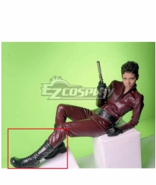 James Bond 007 Jinx Black Shoes Cosplay Boots
