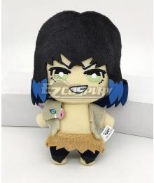 Demon Slayer: Kimetsu No Yaiba Inosuke Hashibira Plush Doll Cosplay Accessory Prop