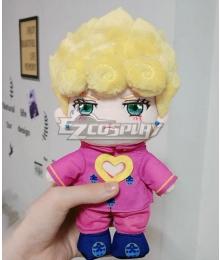 JoJo's Bizarre Adventure: Vento Aureo Golden Wind Giorno Giovanna Plush Doll Cosplay Accessory Prop