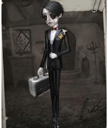 Identity V Embalmer Aesop Carl Banquet Butler Halloween Cosplay Costume