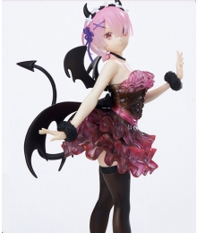Re: Life In A Different World From Zero Ram Demon Cosplay Costume