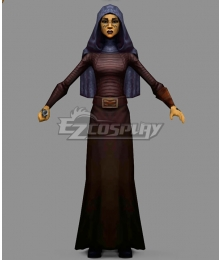 Star Wars: The Clone Wars Barriss Offee Cosplay Costume