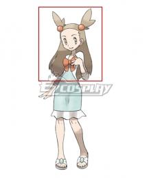 Pokemon Jasmine Light Brown Cosplay Wig