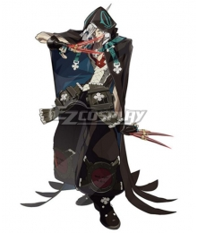 Guilty Gear Raven Cosplay Costume