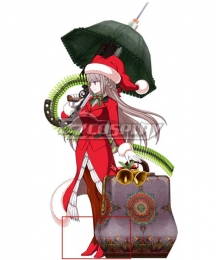 Fate Grand Order Archer Nightingale Santa Red Cosplay Shoes