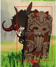 Genshin Impact Hilichurl Shield Cosplay Weapon Prop