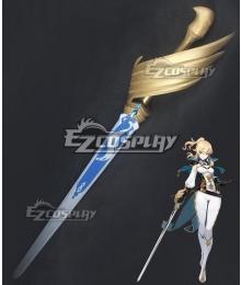Genshin Impact Jean Sword Cosplay Weapon Prop