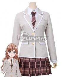 BanG Dream! Roselia Winter Uniform 3rd Year Imai Lisa Cosplay Costume