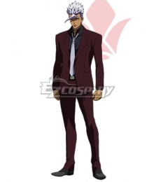 Mobile Suit Gundam Iron-Blooded Orphans Orga Itsuka Red Suit Cosplay Costume