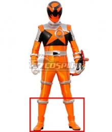 Power Rangers Uchu Sentai Kyuranger Sasori Orange Shoes Cosplay Boots