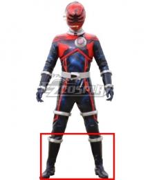 Power Rangers Uchu Sentai Kyuranger Houou Soldier Shoes Cosplay Boots