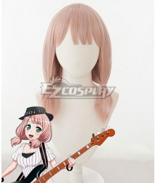 BanG Dream! Afterglow Uehara Himari Pink Cosplay Wig