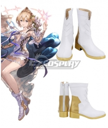 Granblue Fantasy Europa White Cosplay Shoes