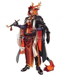 Arknights Wei Yanwu Cosplay Costume