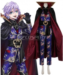 Disney Twisted Wonderland Pomefiore Vil Schoenheit Epel Felmier SSR Scary Outfit Cosplay Costume