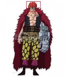 One Piece Eustass Kid Red Cosplay Wig