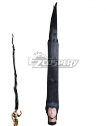 Hunter × Hunter Gon Freecss long Black Cosplay Wig