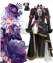 BanG Dream! Roselia Tears Spilling Minato Yukina Cosplay Costume