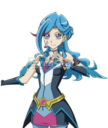 Yu-Gi-Oh! VRAINS Blue Maiden Aoi Zaizen Blue Cosplay Wig