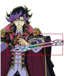 Yu-Gi-Oh! VRAINS Ai Human Duel Disk Cosplay Weapon Prop