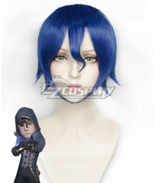 Identity V Mercenary Naib Subedar Clarity Blue Cosplay Wig