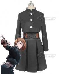 Jujutsu Kaisen Sorcery Fight Kugisaki Nobara Black Comic Ver. Cosplay Costume