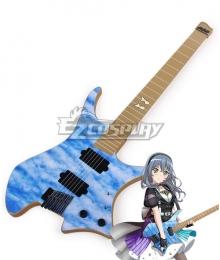 BanG Dream! RAS RAISE A SUILE Asahi Rokka LOCK Guitar Cosplay Weapon Prop