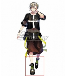 Clock over ORQUESTA Otoha Iosuke Black Cosplay Shoes