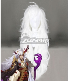 Onmyoji Ibaraki Doji White Cosplay Wig