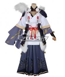 Onmyoji Ibaraki Doji Winter Bamboo Cosplay Costume
