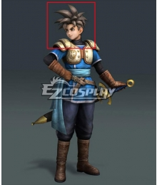 Dragon Quest Heroes Luceus Brown Cosplay Wig
