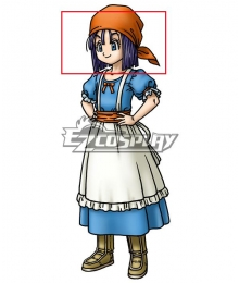 Dragon Quest IX Erinn Blue Cosplay Wig