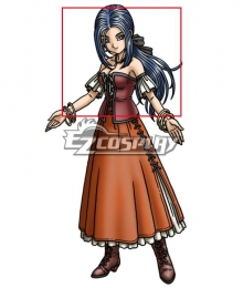 Dragon Quest IX Patty Blue Cosplay Wig
