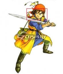 Dragon Quest VIII Hero Brown Cosplay Wig