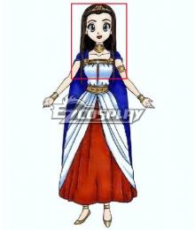 Dragon Quest VIII Princess Medea Black Cosplay Wig