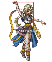 Dragon Quest VI Milly Golden Cosplay Wig