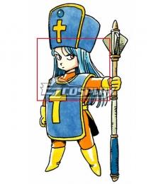Dragon Quest III Priest Female Blue Cosplay Wig