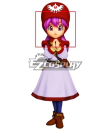 Dragon Quest II Princessa Princess of Moonbrooke Pink Cosplay Wig
