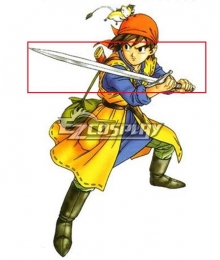 Dragon Quest VIII Hero Cosplay Weapon Prop