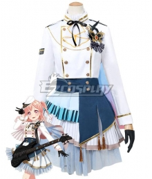 BanG Dream! Morfonica Hiromachi Nanami Innocent Flap Cosplay Costume