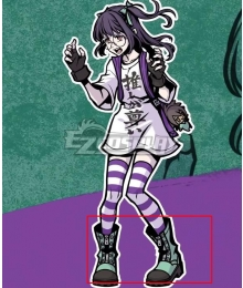 Neo: The World Ends With You Nagi Green Shoes Cosplay Boots