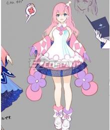 Vocaloid Megurine Luka 2020 Magical Mirai Tokyo Cosplay Costume