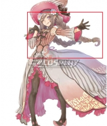 Rune factory 5 Ludmilla Brown Cosplay Wig