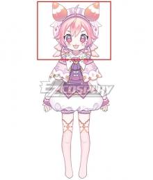 Virtual YouTuber Ushimi Ichigo Pink Cosplay Wig