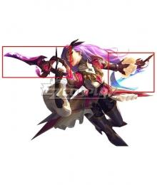 League of Legends LOL Battle Queen Katarina Cosplay Weapon Prop