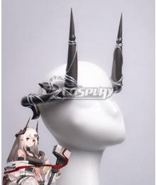 Arknights Mudrock Horn Cosplay Accessory Prop
