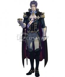 Ace Attorney Dai Gyakuten Saiban: Naruhodo Ryunosuke no Boken Barok van Zieks Cosplay Costume
